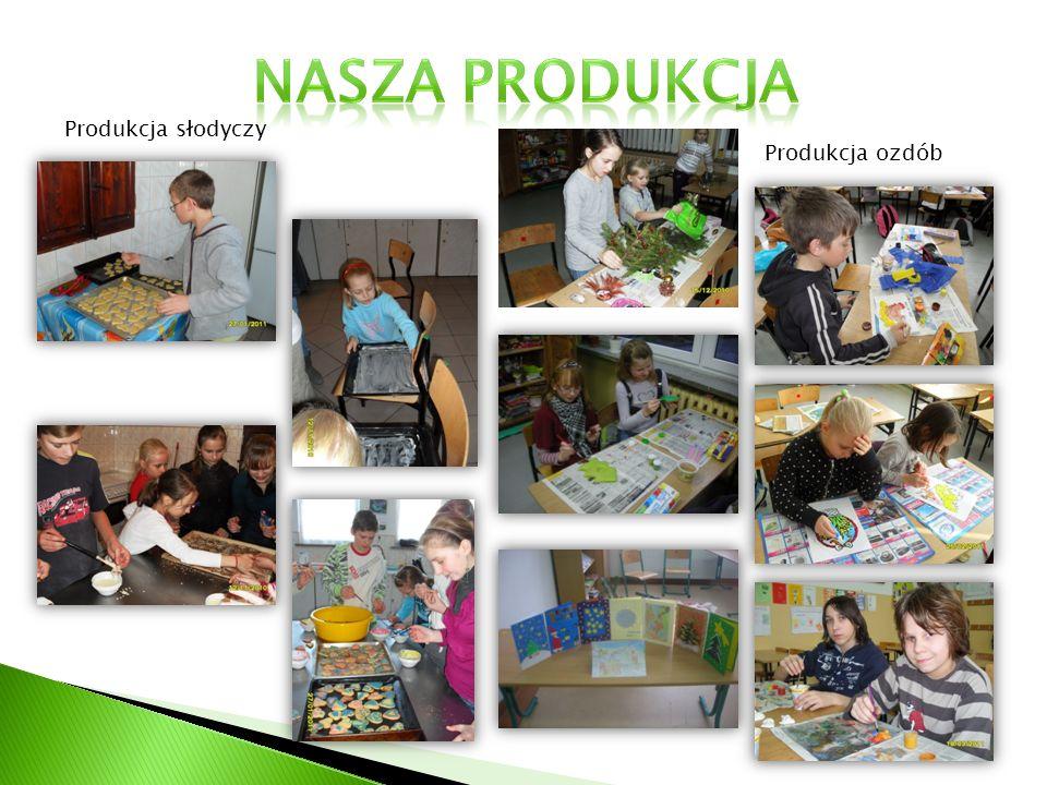 Produkcja słodyczy Produkcja ozdób