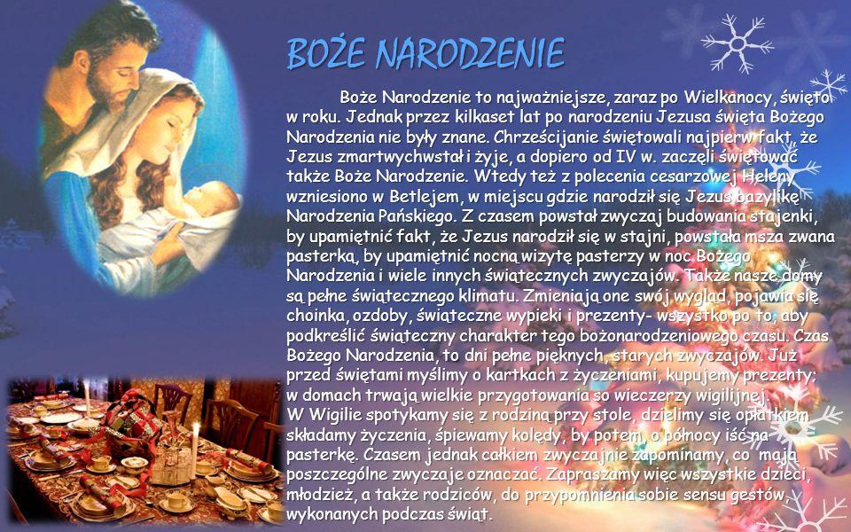Boże Narodzenie to najważniejsze, zaraz po Wielkanocy, święto w roku. Jednak przez kilkaset lat po narodzeniu Jezusa święta Bożego Narodzenia nie były