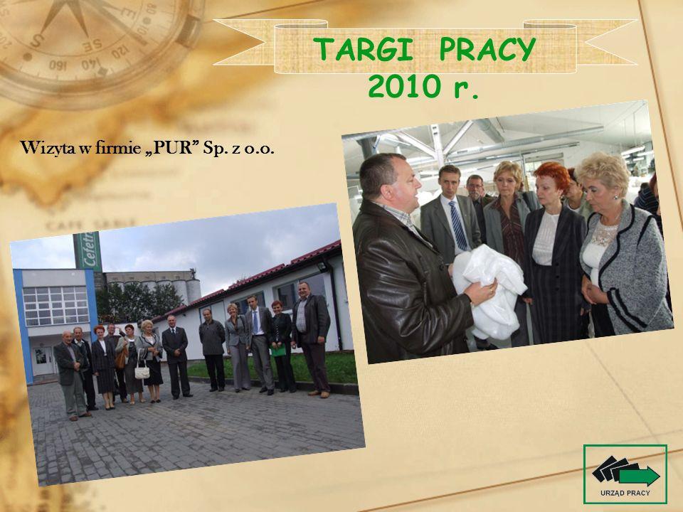 Wizyta w firmie PUR Sp. z o.o.