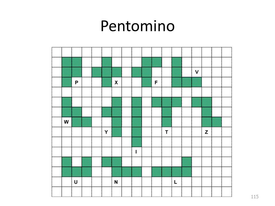 Pentomino 115