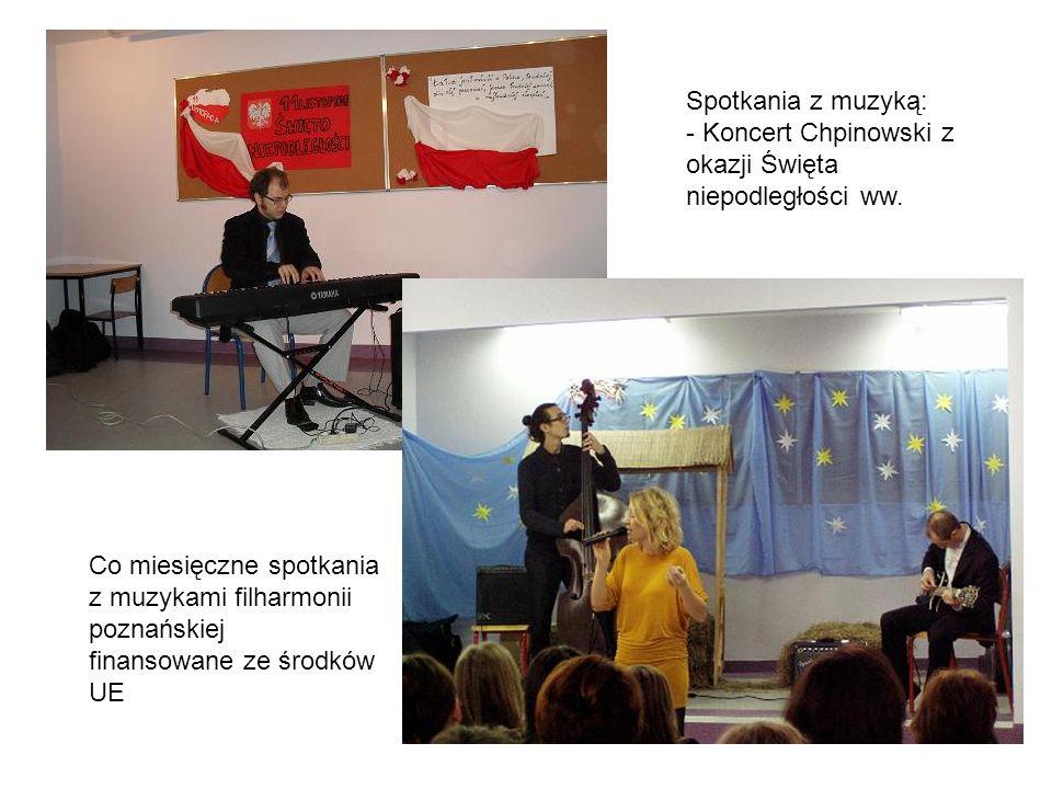 Spotkania z muzyką: - Koncert Chpinowski z okazji Święta niepodległości ww.