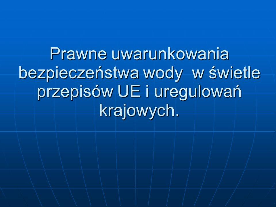 Dyrektywa 2000/60/WE Parlamentu Europejskiego i Rady z dnia 23 października 2000 r.