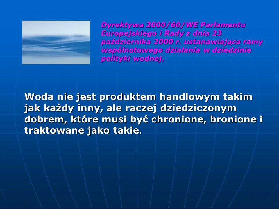 Załącznik Nr 4 Dodatkowe wymagania chemiczne, jakim powinna odpowiadać woda.