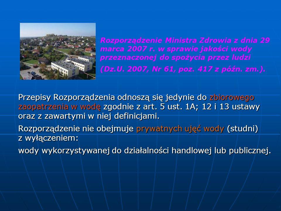 Rozporządzenie Ministra Zdrowia z dnia 29 marca 2007 r.