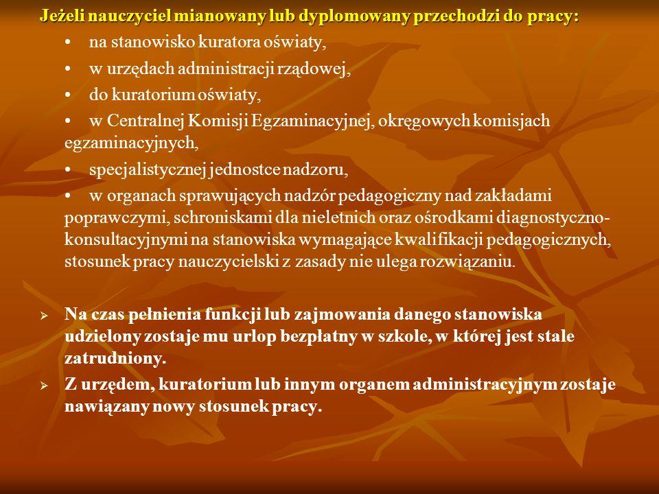 art. 22.2 KN Zasada ograniczenia zatrudnienia nauczyciela zatrudnionego na podstawie mianowania do wymiaru nie niższego niż 1/2 obowiązkowego wymiaru