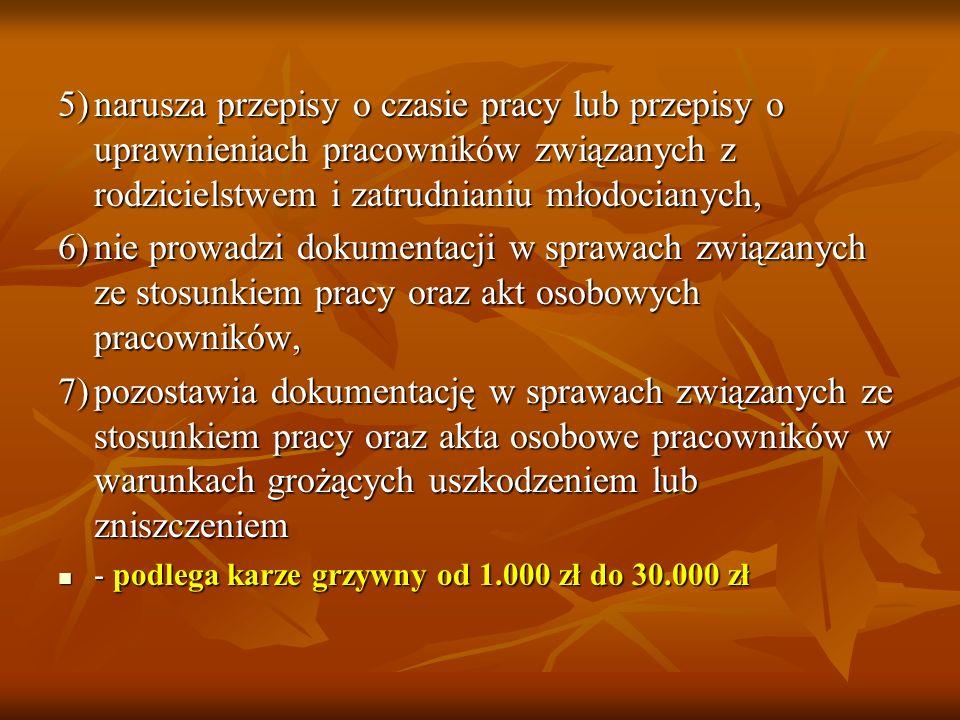Art. 281. k. p. Kto, będąc pracodawcą lub działając w jego imieniu: 1)zawiera umowę cywilnoprawną w warunkach, w których zgodnie z art. 22 § 1 powinna