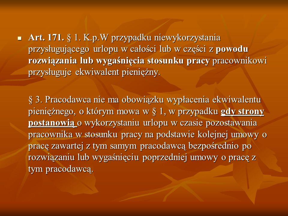 Ustawa z dnia 16 września 2011 r. o redukcji niektórych obowiązków obywateli i przedsiębiorców (Dz. U. 2011 nr 232 poz. 1378) zmiana art. 168, 213.par