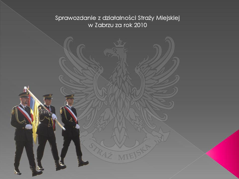 Sprawozdanie z działalności Straży Miejskiej w Zabrzu za rok 2010