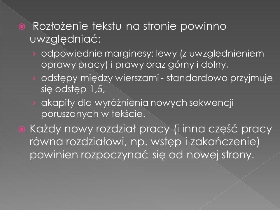 Przykład poprawnie sporządzonego wykazu literatury: LITERATURA 1.Aczel A.