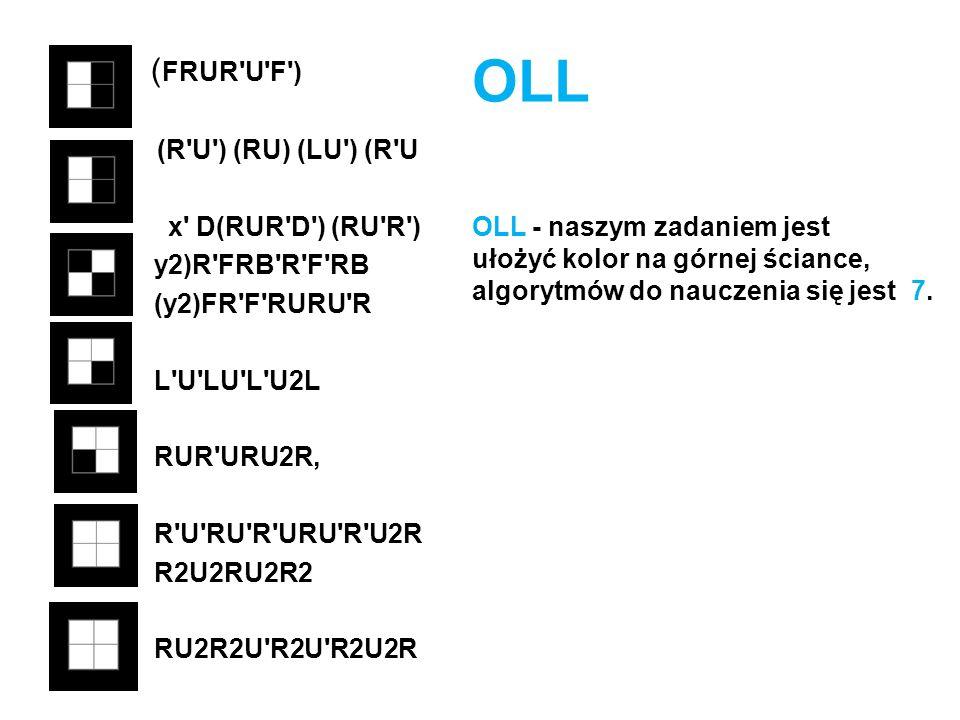( FRUR'U'F') (R'U') (RU) (LU') (R'U x' D(RUR'D') (RU'R') y2)R'FRB'R'F'RB (y2)FR'F'RURU'R L'U'LU'L'U2L RUR'URU2R R'U'RU'R'URU'R'U2R R2U2RU2R2 RU2R2U'R2