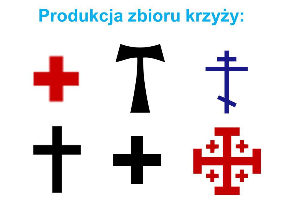 Produkcja zbioru krzyży: