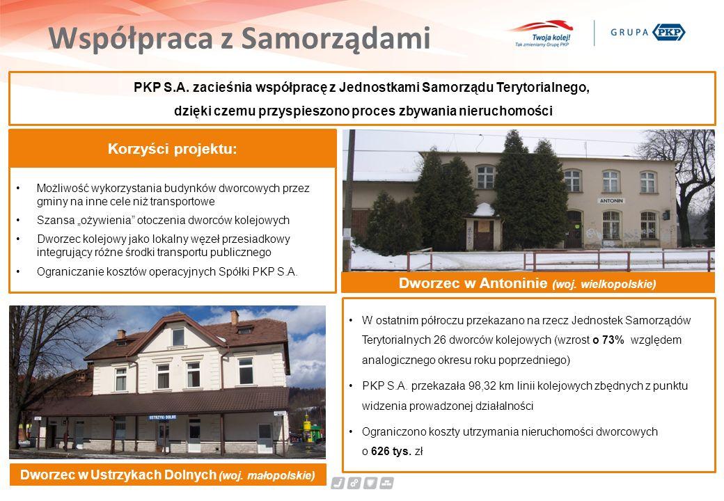 Współpraca z Samorządami PKP S.A.