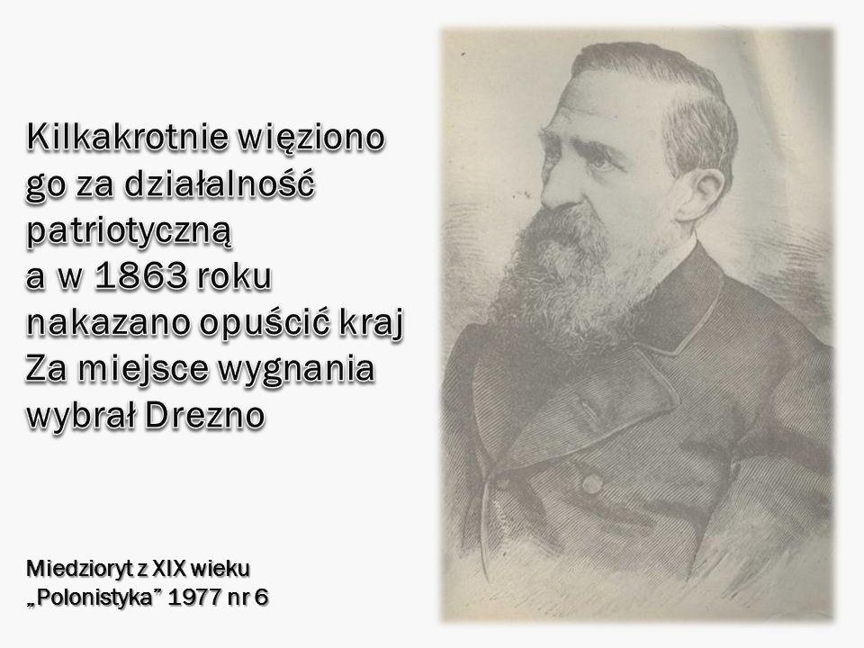 Miedzioryt z XIX wieku Polonistyka 1977 nr 6