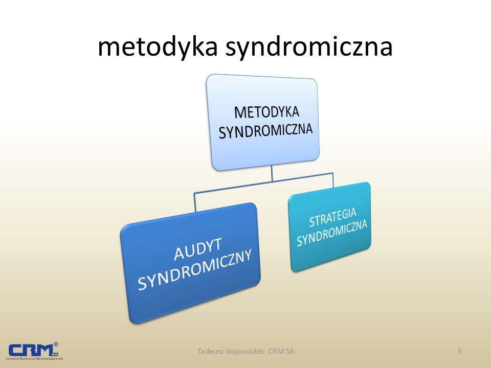 metodyka syndromiczna Tadeusz Wojewódzki CRM SA5