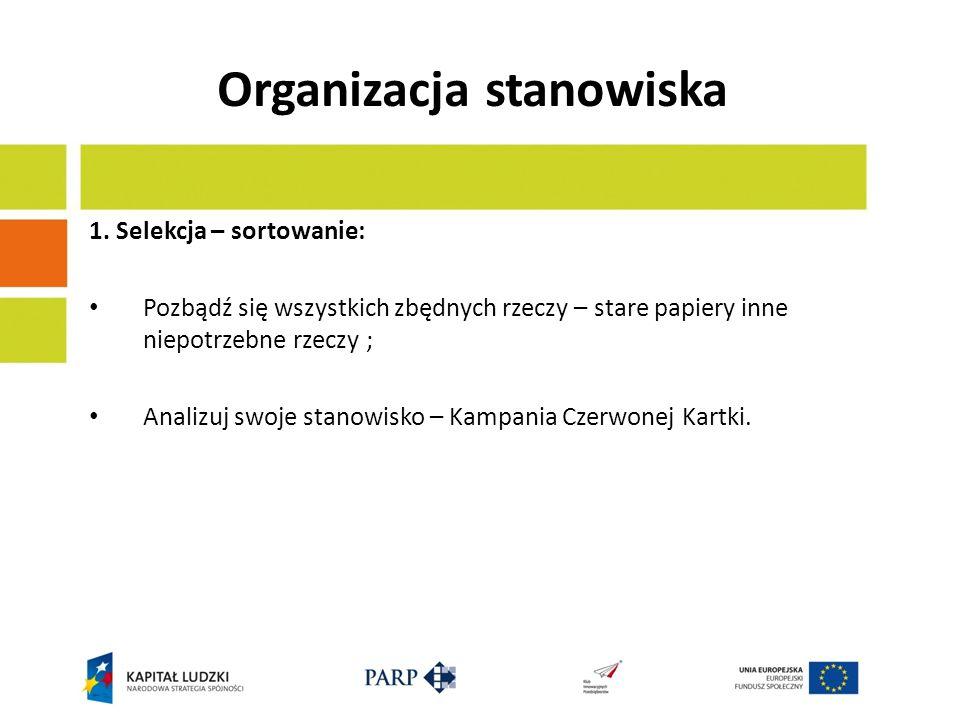 Organizacja stanowiska 2.