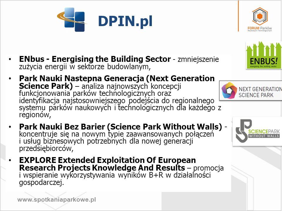 www.spotkaniaparkowe.pl ENbus - Energising the Building Sector - zmniejszenie zużycia energii w sektorze budowlanym, Park Nauki Nastepna Generacja (Ne