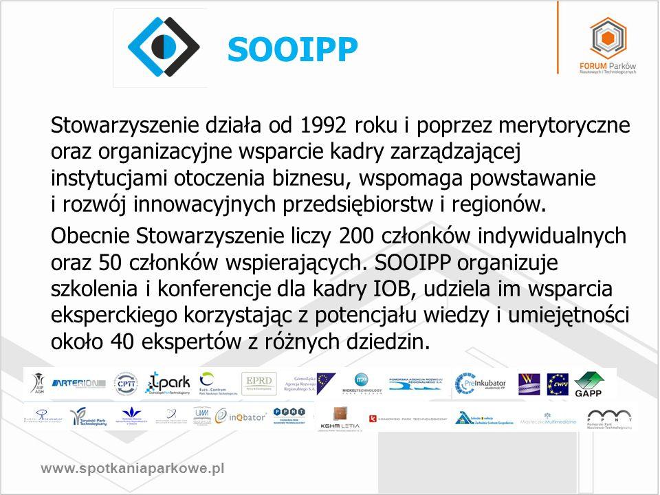 www.spotkaniaparkowe.pl Stowarzyszenie działa od 1992 roku i poprzez merytoryczne oraz organizacyjne wsparcie kadry zarządzającej instytucjami otoczen