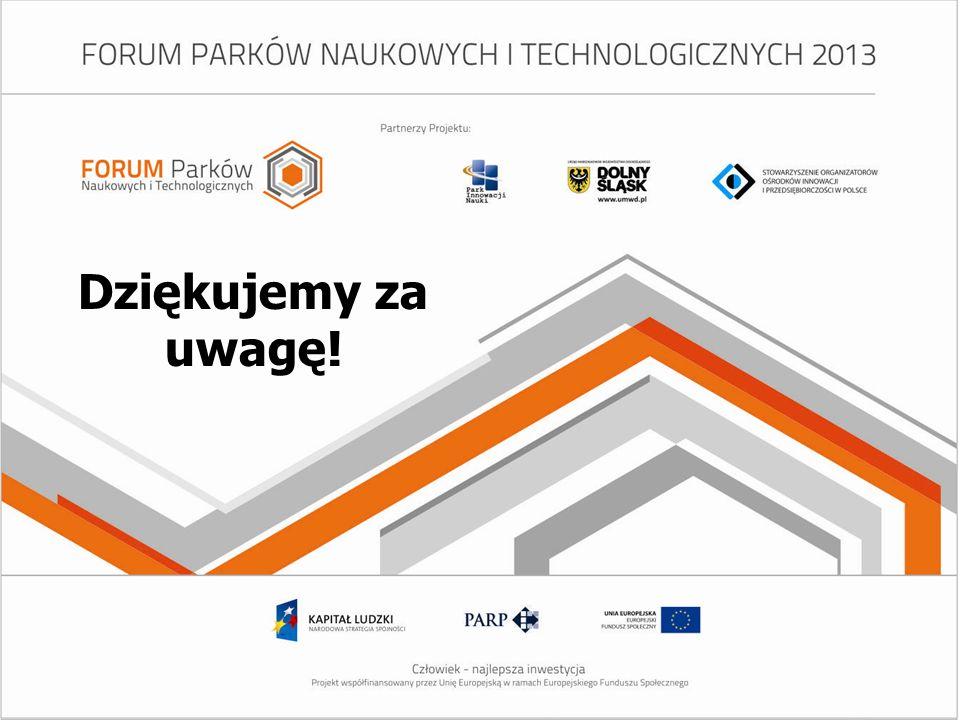 www.spotkaniaparkowe.pl Dziękujemy za uwagę!