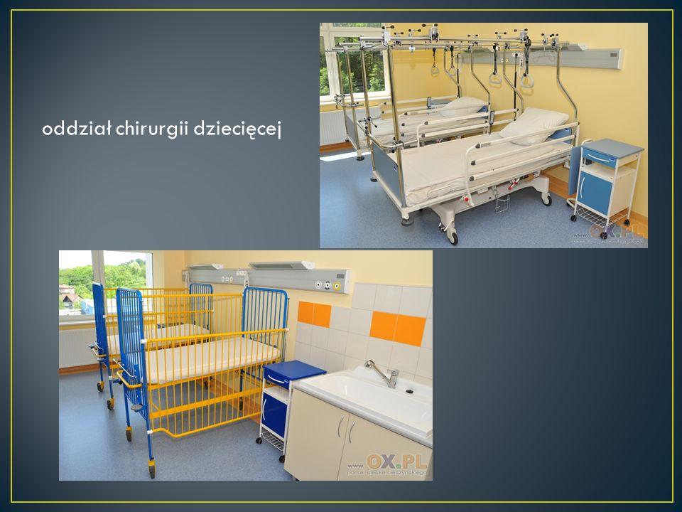oddział chirurgii dziecięcej