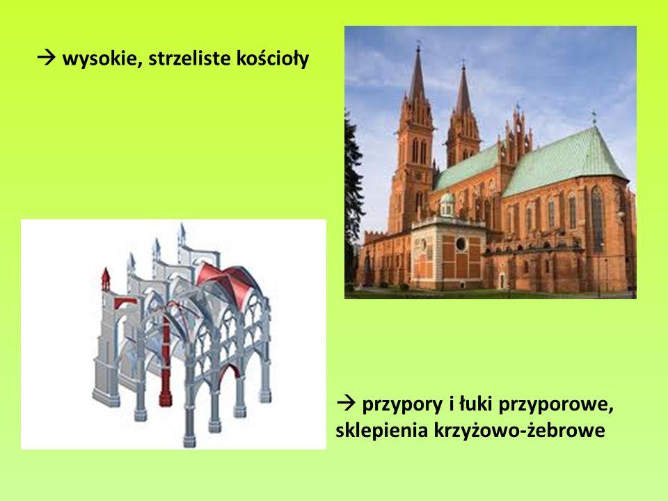 Ośle grzbiety utworzone z okręgów stycznych – kościół w Szampanii