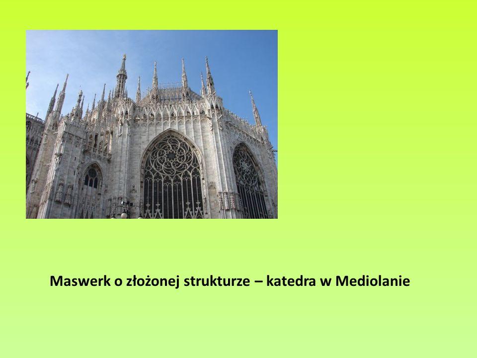 Bibliografia W.Guzicki, Geometria maswerków gotyckich, Wydawnictwo Szkolne Omega, Kraków 2011; J.