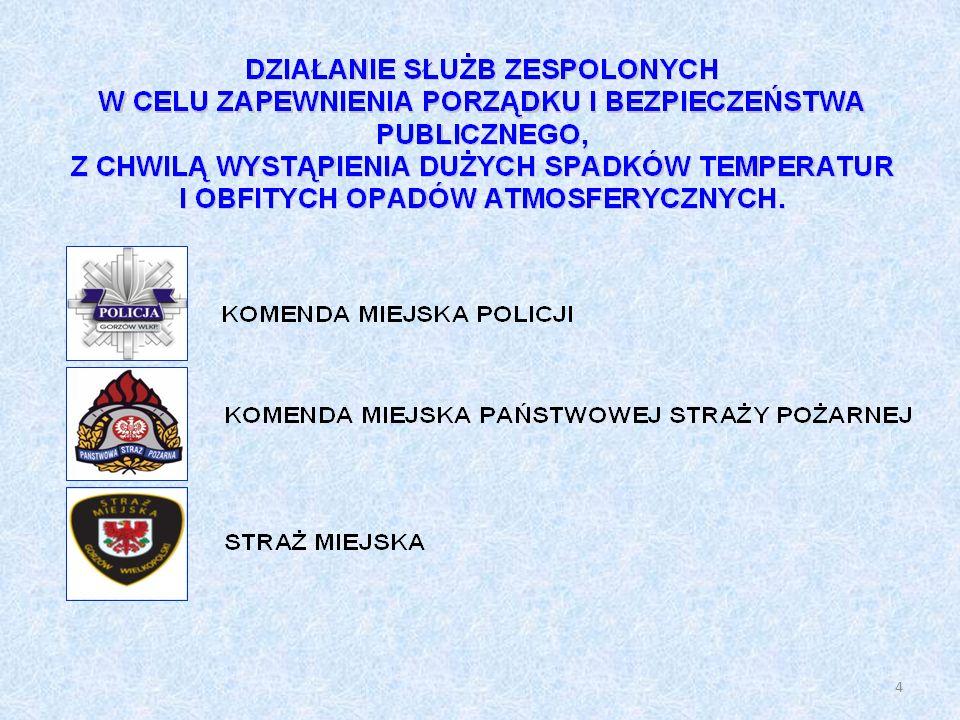 DZIAŁANIA KOMENDY MIEJSKIEJ POLICJI 1.BEZPIECZEŃSTWO OSÓB BEZDOMNYCH.