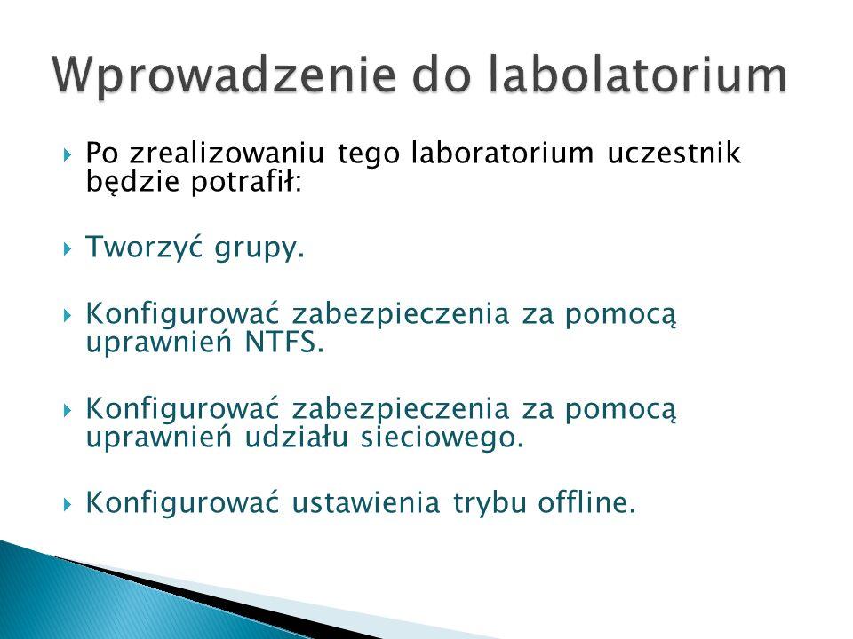 Kontrola dostępu w systemie W2k3 Co to są uprawnienia.