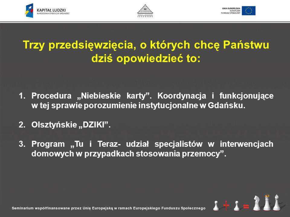 Program integruje w sposób bezpośredni bądź pośredni gdańskie instytucje pomocowe.