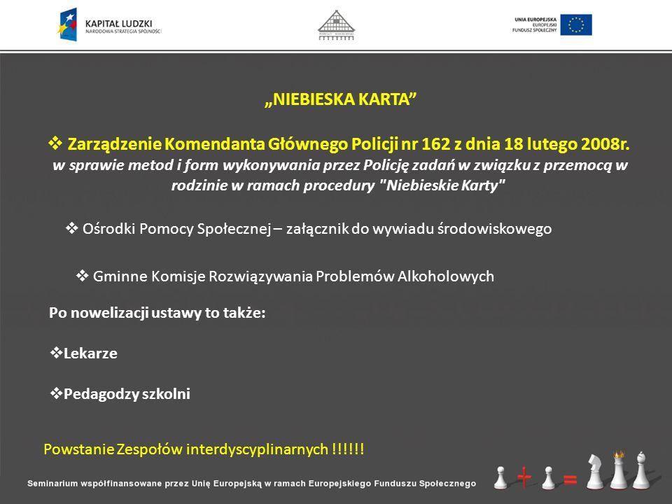 Wojewódzki Ośrodek Terapii Uzależnienia od Alkoholu i Współuzależnienia Gdańskie Centrum Profilaktyki Uzależnień Centrum Interwencji Kryzysowej Stowarzyszenie Współpracy Kobiet NEWW - Polska MOPS Gdańsk Pogotowie socjalne dla osób nietrzeźwych