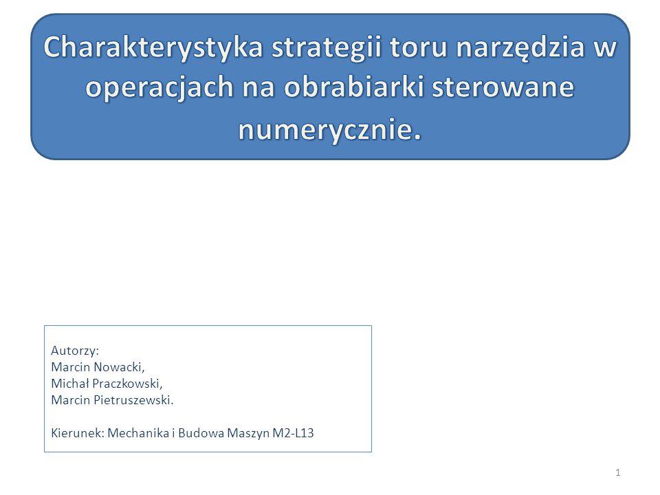 Autorzy: Marcin Nowacki, Michał Praczkowski, Marcin Pietruszewski. Kierunek: Mechanika i Budowa Maszyn M2-L13 1