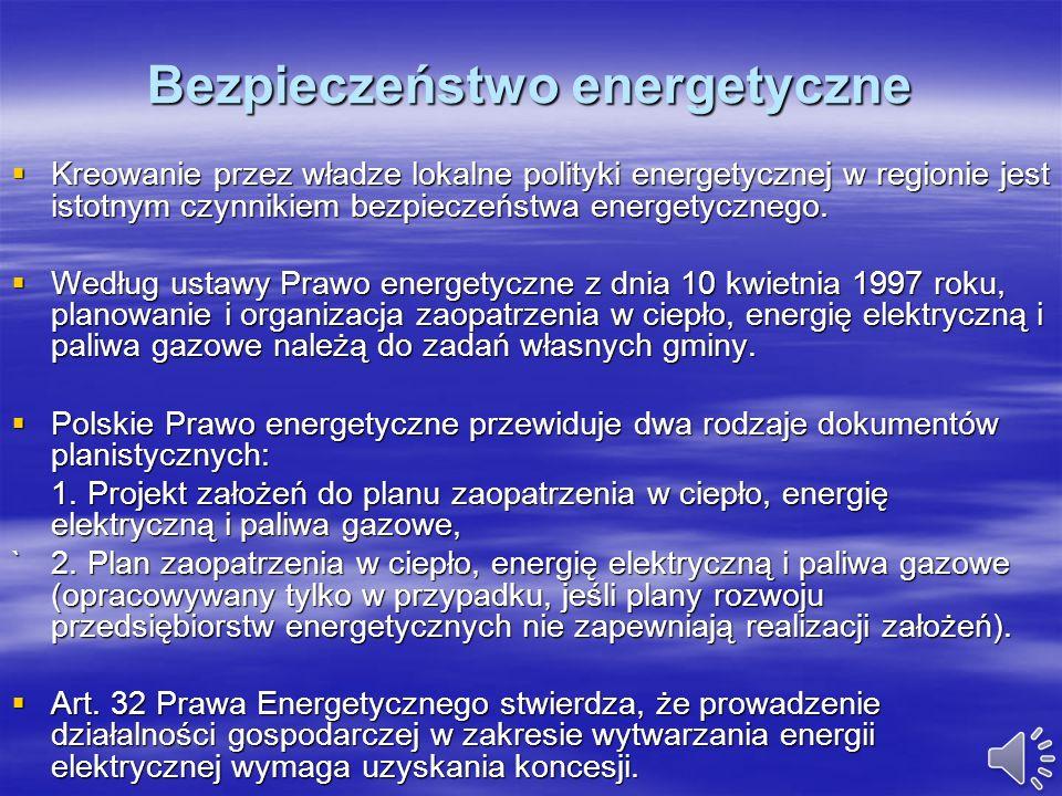 Miejscowe plany zagospodarowania przestrzennego dla lokalizacji elektrowni wiatrowych i realizacja ich ustaleń Planowanie usytuowania elektrowni wiatr