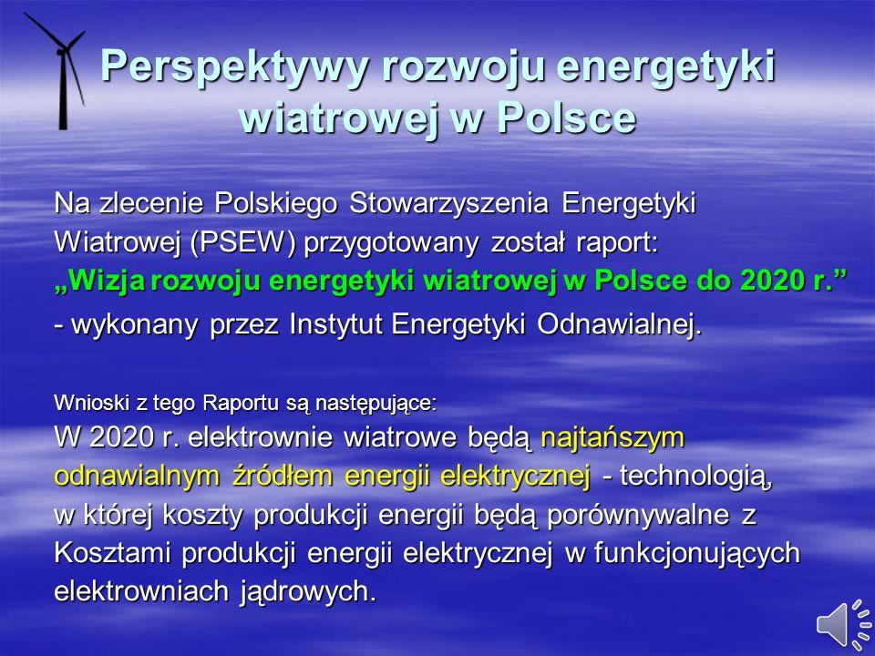 Zestawienie mocy wytwórczych energii elektrycznej brutto [MW] Poniżej przedstawiona została prognoza zainstalowanych mocy wytwórczych energii elektryc