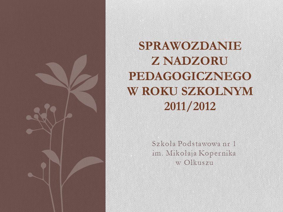Zgodnie z Rozporządzeniem Ministra Edukacji Narodowej z dnia 7 października 2009r.
