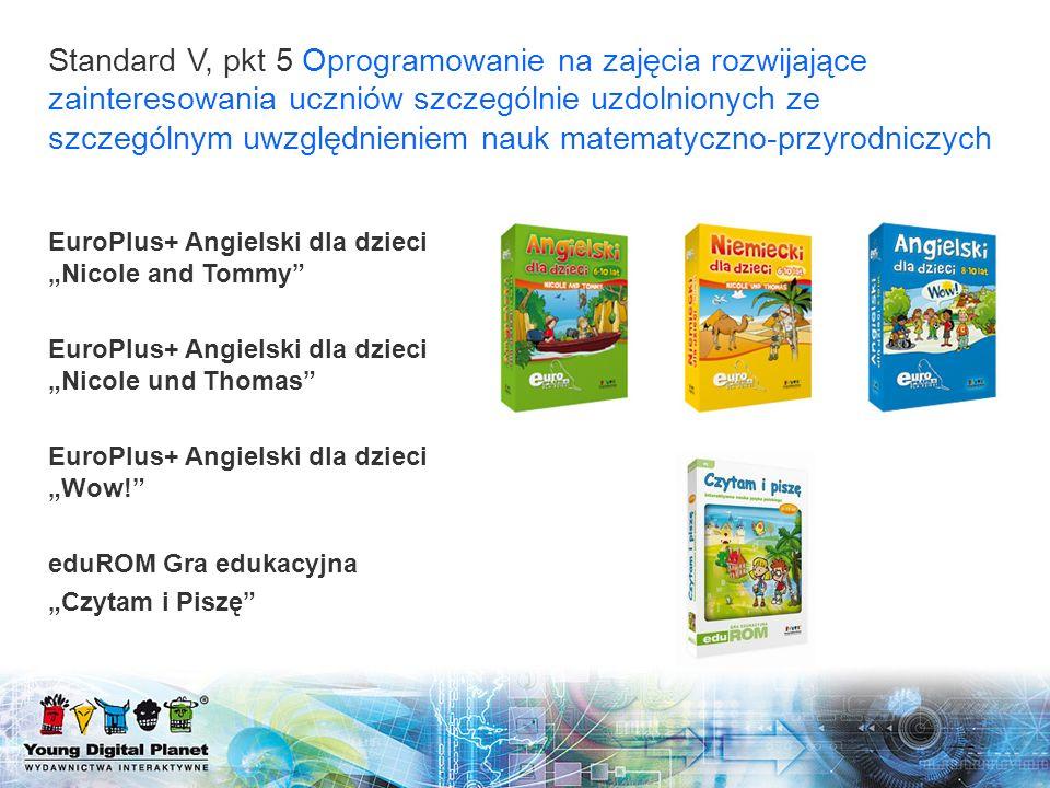 EuroPlus+ Angielski dla dzieci Nicole and Tommy EuroPlus+ Angielski dla dzieci Nicole und Thomas EuroPlus+ Angielski dla dzieci Wow! eduROM Gra edukac