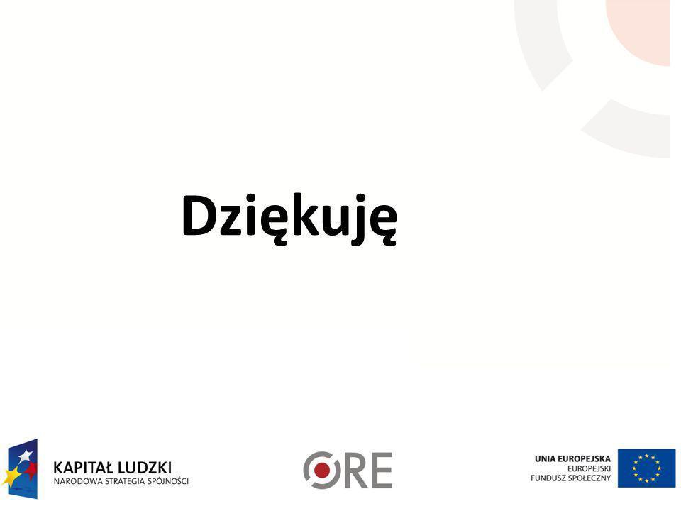 Gdzie warto szukać podpowiedzi ? http://www.ore.edu.pl/ http://www.koweziu.edu.pl/index.php?id=glowna Ramowe plany nauczania: http://forum.ore.edu.pl/
