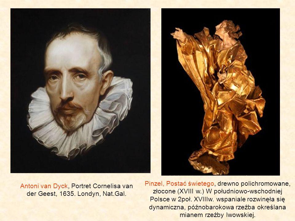 Antoni van Dyck, Portret Cornelisa van der Geest, 1635.