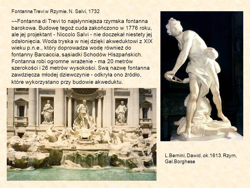 Fontanna Trevi w Rzymie, N.