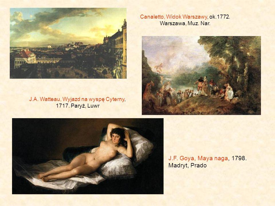 Canaletto, Widok Warszawy, ok.1772.Warszawa, Muz.