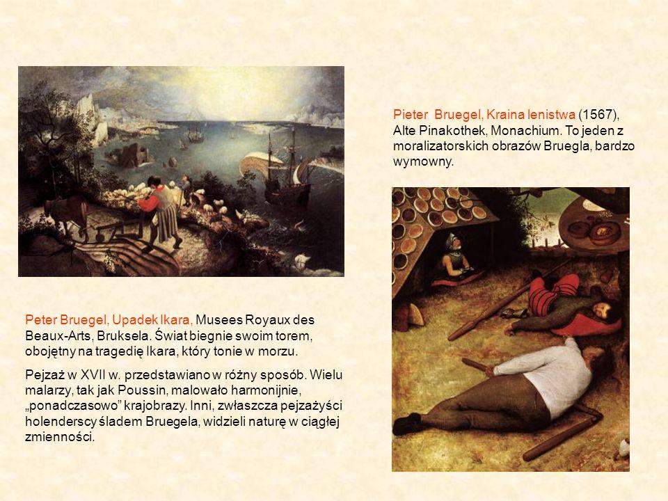 Peter Bruegel, Upadek Ikara, Musees Royaux des Beaux-Arts, Bruksela.