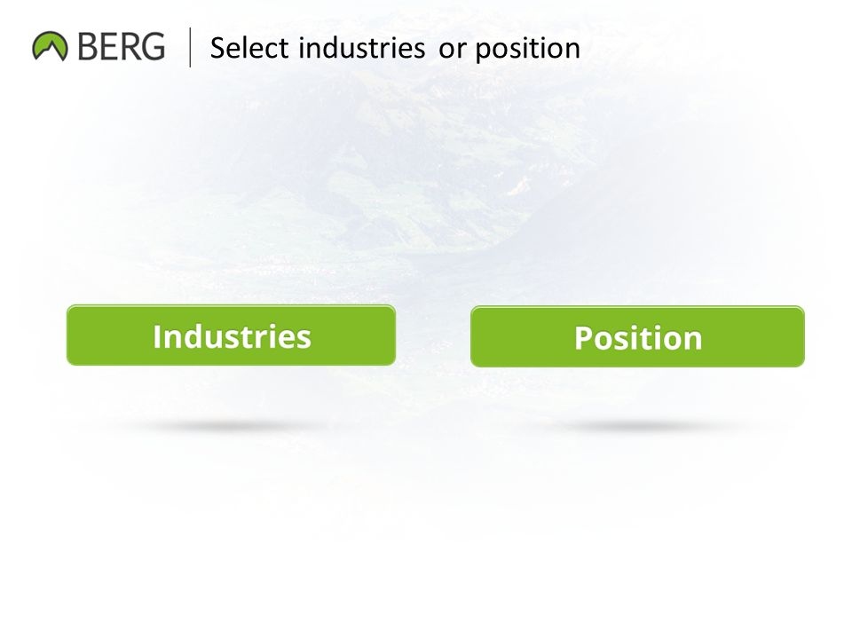 Select industries or position