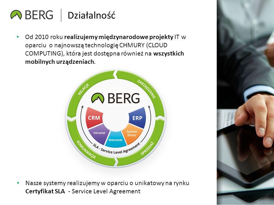 Działalność Od 2010 roku realizujemy międzynarodowe projekty IT w oparciu o najnowszą technologię CHMURY (CLOUD COMPUTING), która jest dostępna również na wszystkich mobilnych urządzeniach.