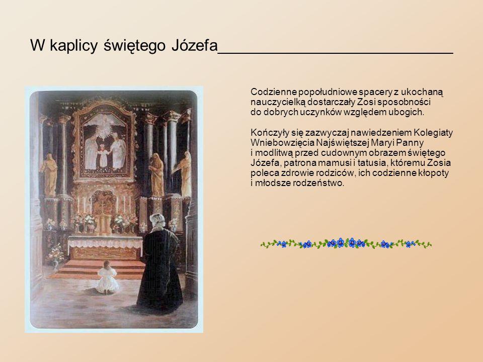 Przed obrazem Rubensa___________________________ Niekiedy wstępowały do kościoła świętego Mikołaja.