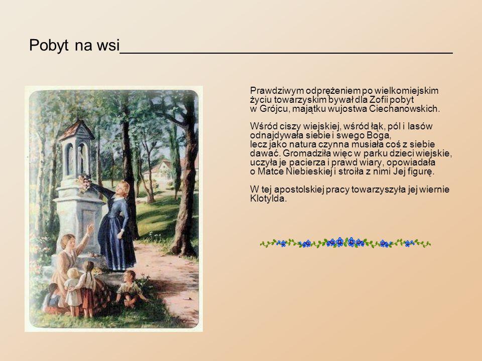 Przy pracy artystycznej____________________________ W dni pochmurne i deszczowe obie panny zasiadały do krosien.