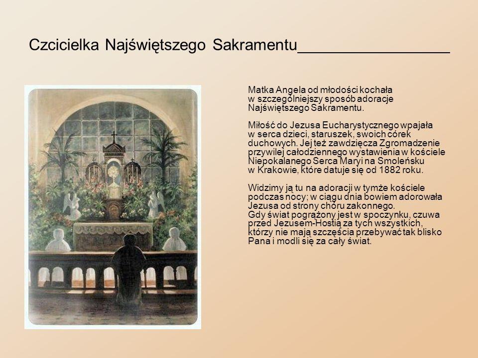 Wyjazd sióstr do Ameryki___________________________ Z biegiem lat liczba sióstr urosła do tego stopnia, że można było obsadzić już nie tylko placówki w kraju, ale i zadośćuczynić prośbie księdza Józefa Dąbrowskiego, który od kilku lat prosił o felicjanki do pracy wśród emigrantów polskich w Stanach Zjednoczonych Ameryki Północnej.
