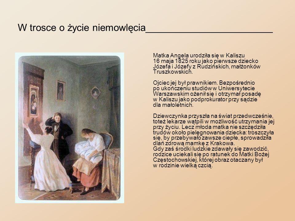 Chrzest_________________________________________ Kiedy już ustąpiły obawy o życie dziecka, dnia 1 stycznia 1826 roku zaniesiono je do kolegiaty Wniebowzięcia Najświętszej Maryi Panny, gdzie zostało ochrzczone otrzymując imiona Zofia Kamilla.