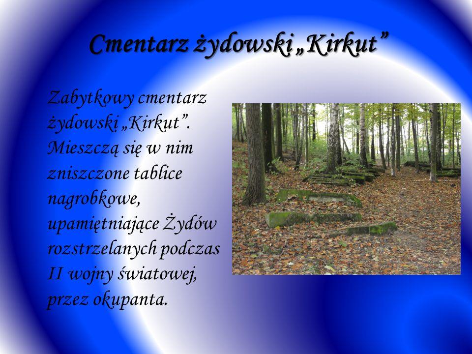 Cmentarz żydowski Kirkut Zabytkowy cmentarz żydowski Kirkut.