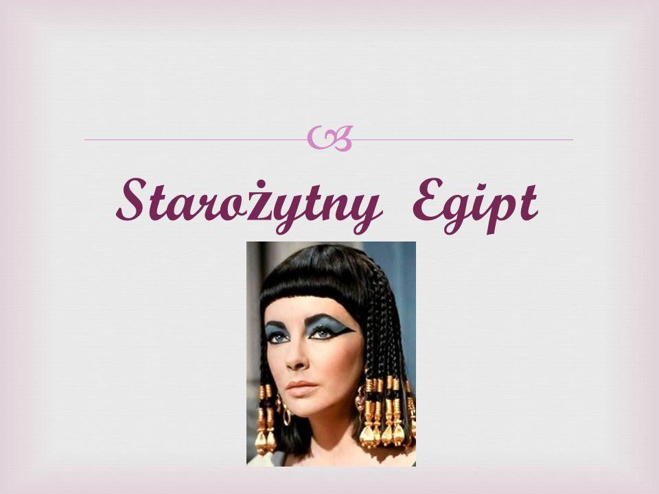 Staro ż ytny Egipt