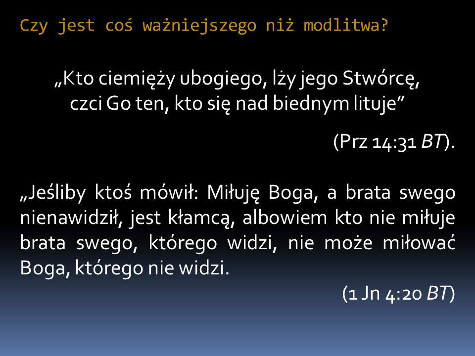 Przykład Jeszui Potem wyszedł i udał się, według zwyczaju, na Górę Oliwną: towarzyszyli Mu także uczniowie.