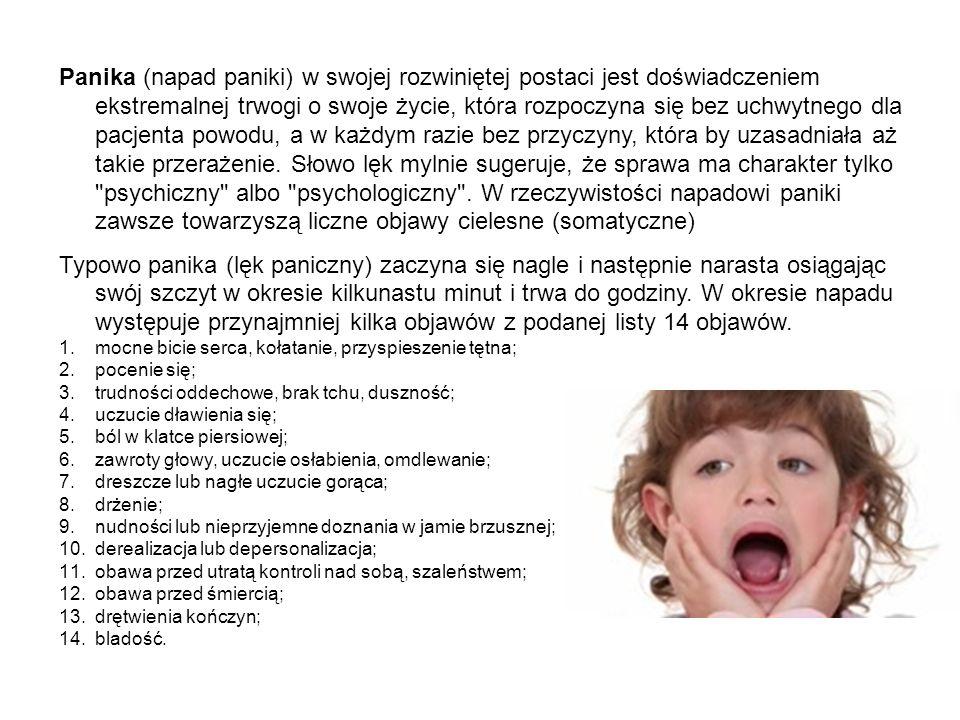 LĘK UOGÓLNIONY Zespół lęku uogólnionego (GAD; lęk uogólniony) to chroniczne, nadmierne zamartwianie się i lęk, które zdają się nie mieć żadnej konkretnej przyczyny.