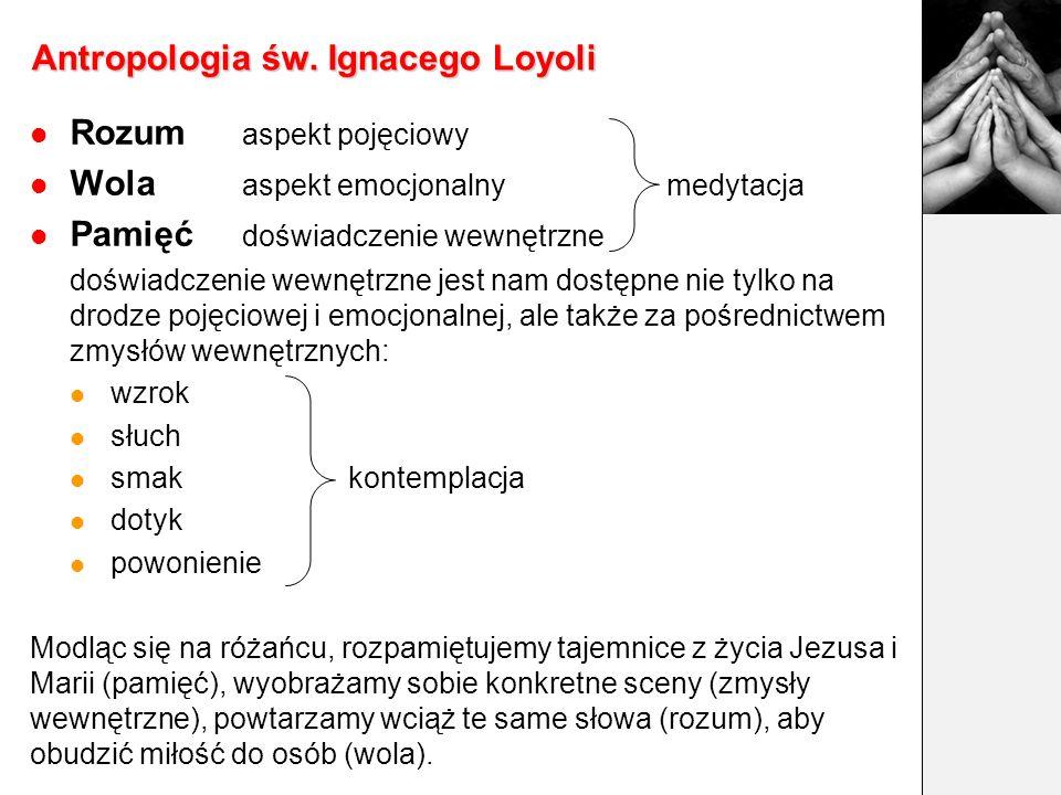 Teologia odkupienia i pracy Ignacy Loyola Rozważać, jak Bóg działa i pracuje (operatur et laborat) dla mnie we wszystkich rzeczach stworzonych na obli